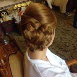 Wedding Hairup by Suzanne