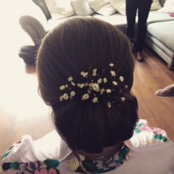 Bridesmaid Hair by Suzanne