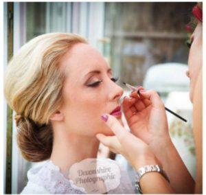 Zoe's Wedding Makeup
