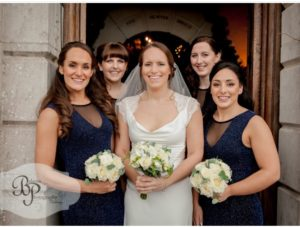 Bride and Bridesmaids Hair and Makeup